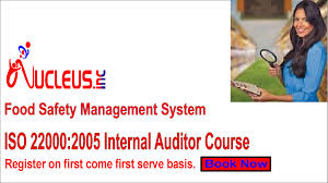 iso 22000 internal auditor