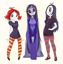 ruby misery and iris grown up by kindahornyart monster girls