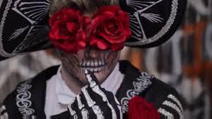 Sugar Skull Halloween Makeup Halloween Makeup Rose Skull Halloween Makeup Tutorial Sugar