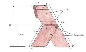 Easy Wooden Bench Plans Easy Bench Plans Build Your Own Outdoor Bench