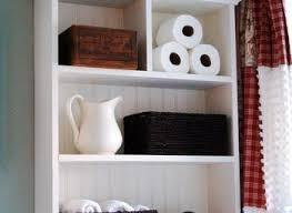 organized bathroom shelf ideas for neat bathroom storage furniture