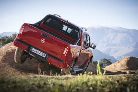 riding shotgun in the new mercedes benz x class pickup parkers