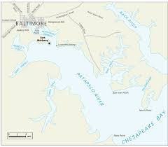 map us baltimore the rocket s glare francis key and the bombardment of
