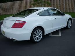 honda accord coupe 2009 sell used 2009 honda accord coupe 6 cyl ex l white with