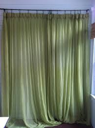 Green Sheer Curtains Awesome Green Sheer Curtains And Vintage Green Curtains Pair Of