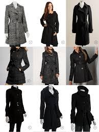 baci designer handpicked belted black winter coats
