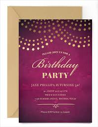 21 birthday party invitations free psd vector ai eps format