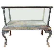Antique Outdoor Benches For Sale by Fiske Cast Iron Antique Aquarium Or Fish Tank For Sale At 1stdibs