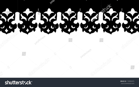 traditional thai design pattern isolated on stock photo 110909375