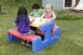 giardino bambini grande tavolo da giardino per bambini da pic nic multicolore