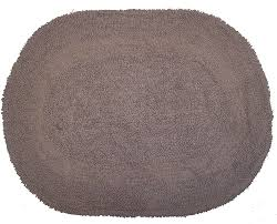 Wash Bathroom Rugs Revere Mills 4 Pack Cotton 17 By 24 Inch Oval
