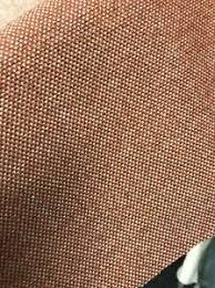 Upholstery Weight Fabric Premium Upholstery Weight Fabric Tweed Orange Check Ebay