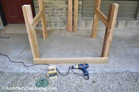 How To Make A Platform Bed With Legs by How To Build An Elevated Garden