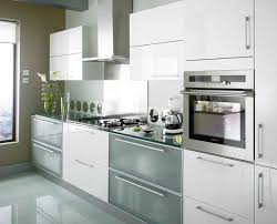 High Gloss White Kitchen Cabinets Traditional Glossy White Kitchen Cabinets Best 25 High Gloss At