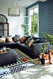 Navy Feature Wall Bedroom Image Result For Navy Blue And Copper Living Room Living Room