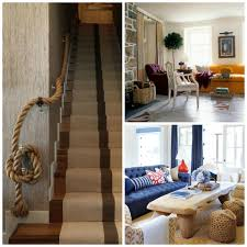 nautical decorating ideas home 30 rope projects and decorating ideas for a nautical theme