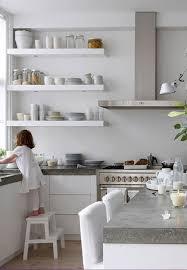 Floating Shelves Kitchen trend floating shelves in the kitchen la la lovely