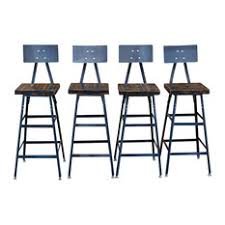 Wooden Bar Stool With Back 36 Inch Bar Stools U0026 Counter Stools Houzz