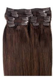 Brown Hair Extensions by Medium Brown Clip In Hair Extensions 100 Indian Remy Hair