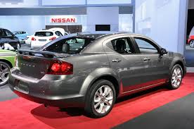 2012 dodge avenger information and photos zombiedrive