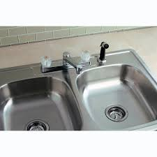 kitchen sink and faucet sets stainless steel kitchen sink combination kraususa ruvati rvc2392