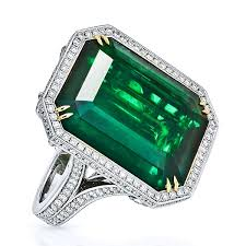 green diamonds rings images King jewelers 20 08ct emerald cut green emerald diamond ring jpg
