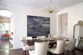 canvas painting ideas for dining room dining room transitional