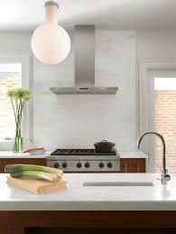 Modern Kitchen Range Hoods - modern kitchen with high ceiling by studio durham architects