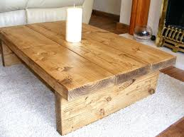 Solid Oak Coffee Table Solid Wood Coffee Table Set Chunkyhandmade Solid Wood Coffee Table