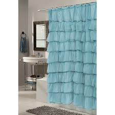 Curtains With Ruffles Carnation Home Fashions Geometric 3d Clear Vinyl Print Shower