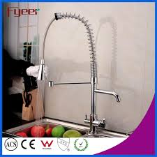 china fyeer pull out spray kitchen faucet with water flow filter