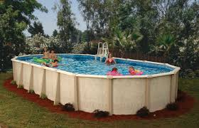 outdoor above ground pools and decks above ground pools with