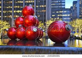 Large Christmas Ball Ornaments by Giant Christmas Tree Stock Images Royalty Free Images U0026 Vectors