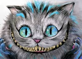 cheshire cat by manuela lai alice in wonderland tattoo design fine