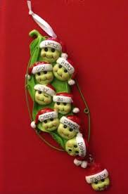 peas in a pod ornament peas in a pod christmas ornaments personalized seasonal gifts