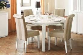 Round Kitchen Tables White Round Kitchen Tables Designcorner