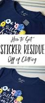 How To Wash A Polyester Comforter How To Remove Sticker Residue From Clothing After Washing