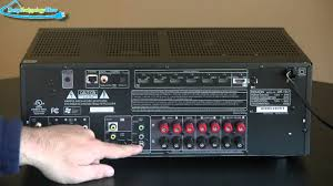 home theater subwoofer amplifier denon avr1912 home theater receiver review youtube