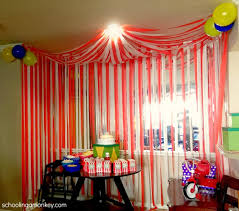 home decor for birthday parties creative carnival birthday party decoration ideas home decoration