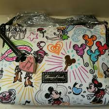17 off dooney u0026 bourke handbags disney sketch nylon crossbody