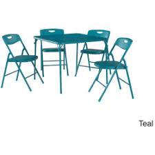 cosco products 5 piece folding table and chair set black upc 044681377778 cosco 5 piece folding table and chairs set