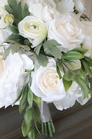 wedding flowers silk ivory and white wedding flowers silk wedding flowers and