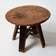 Whiskey Barrel Kitchen Table Short Stave Wine Barrel Table Wine Enthusiast