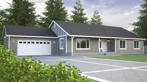 New Home Plans Rambler Home Plans True Built Home Pacific Northwest Custom