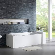 bathtubs enchanting 3 wall alcove cast iron tub 46 bathtub