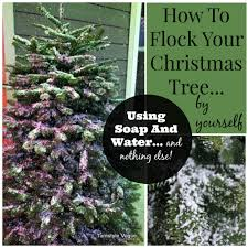 decorating celebrate the of winter with flocked