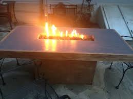 Personalized Fire Pit by Handmade Concrete Fire Table By Murrcrete Designs Custommade Com