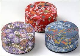 Kotobuki Japanese Paper Covered Canister Small The Tea Table