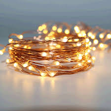 copper wire led lights 100 warm white led 10m copper wire micro battery fairy lights