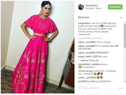 birthday special 11 worn by nargis fakhri that she needs